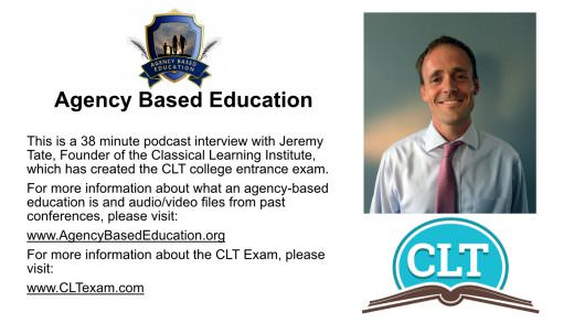 Interview with Jeremy Tate of the CLT Exam