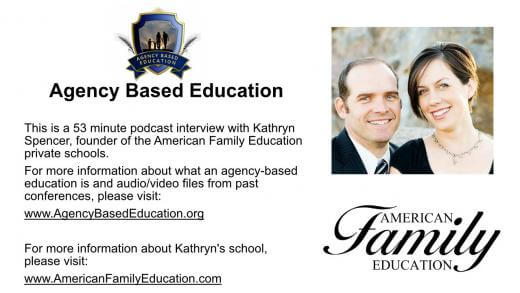 Kathryn Spencer American Family Education Podcast